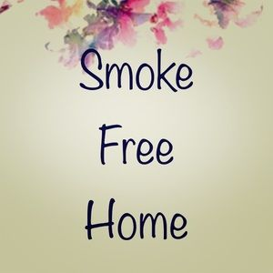 My closet items are from a 100% Smoke Free Home!